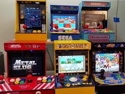 DIY Mini Arcade Kit Showcase: Available Kit Types