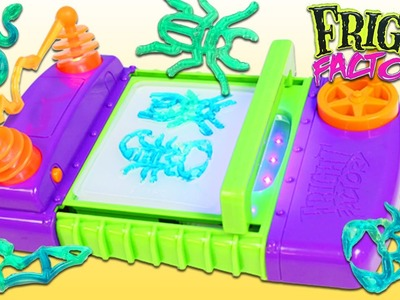 FRIGHT FACTORY Playset DIY Make Your Own Creepy Crawlers with EWWGOO!