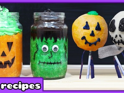 Halloween DIY Treats | Quick and Easy Halloween Treats by HooplaKidz Recipes