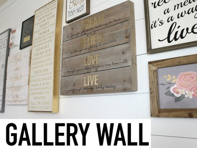 How To Hang A Gallery Wall | Tips & Tricks | My Office