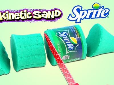 How to Make Kinetic Sand Sprite Bottle | DIY Fun & Easy Soda Bottle Shapes!