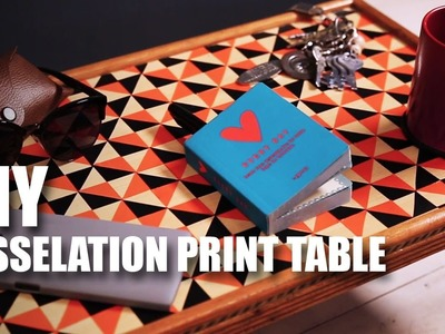 Mad Stuff With Rob – DIY Tesselation Print Table | Room Décor