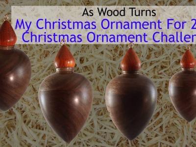 My Christmas Ornament For 2016 Christmas Ornament Challenge