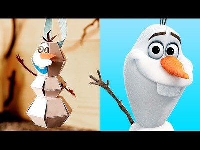 Olaf DIY Inspired by Frozen: A Pop-Up Adventure | Disney Family