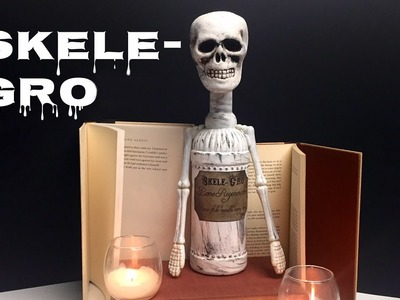 Skele-gro : DIY Potion Bottle : Halloween Prop ( Harry Potter Inspired )