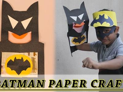 Batman Mask Summer Special Paper Craft