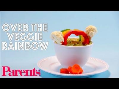 Over the Veggie Rainbow | Food Crafts | Parents
