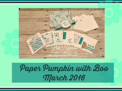 Paper Pumpkin with Boo - March 2016