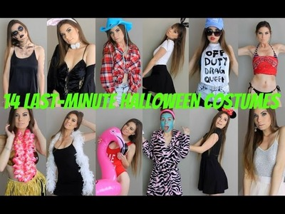 14 LAST-MINUTE DIY HALLOWEEN COSTUME IDEAS! | Madison Axførd ♡