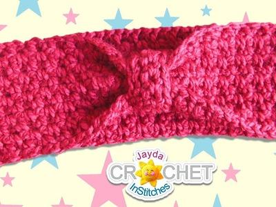 Classic Headband. Ear Warmers Crochet Pattern - EASY DIY!