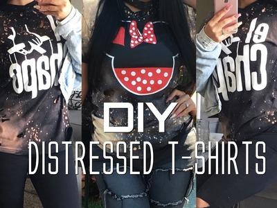 DIY- Distressed T-shirt