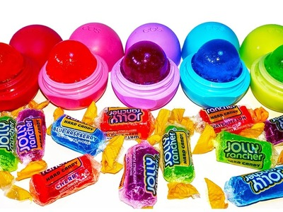 DIY: EOS you CAN EAT!!! JOLLY RANCHER CANDY TREATS! ADULT REQUIRED for new method, no dirty dishes!