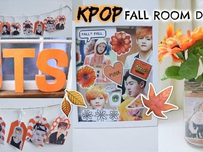 DIY: KPOP FALL ROOM DECOR! | Hunnie Bunnie ♡♡♡
