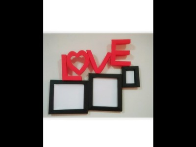 Diy Paper photo frame