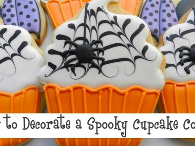 How to Decorate a Spooky Cupcake