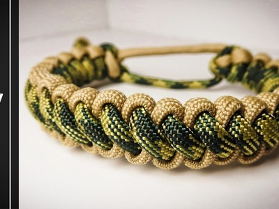 How to make a Bootlace Paracord Survival Bracelet [MAD MAX STYLE]