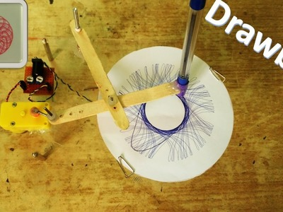 How to make a drawing robot – Spirograph – DIY Robot