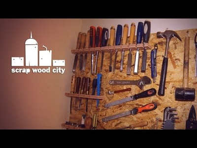 How to make a simple DIY wall tool board