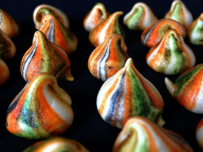 How to make Halloween meringue kisses - Halloween treats ideas