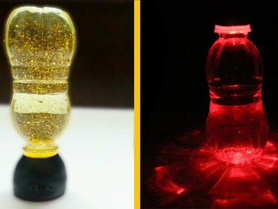 How to make LED Night Lamp using plastic bottles