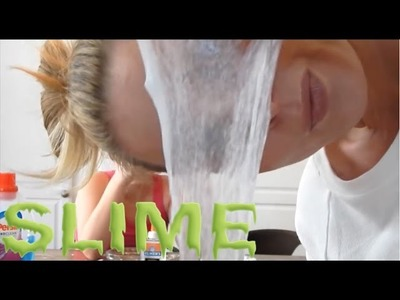HOW TO MAKE SLIME - 2 DIFFERENT RECIPES! | skip2mylou