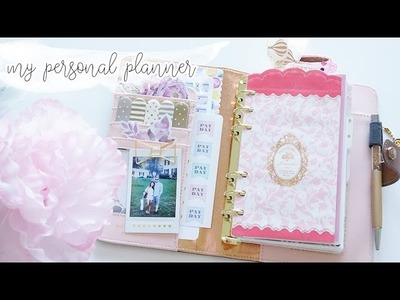 How to Set Up a Personal Planner | Plan With Me Sunday Wk 41 | Charmaine Dulak