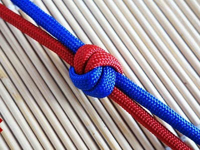 How to Tie a Double Snake Knot. Wall Knot Tutorial