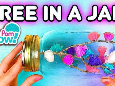 Pom Pom Wow DIY Tree In A Jar   Official PomPom Wow