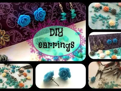 Three DIY Earrings
