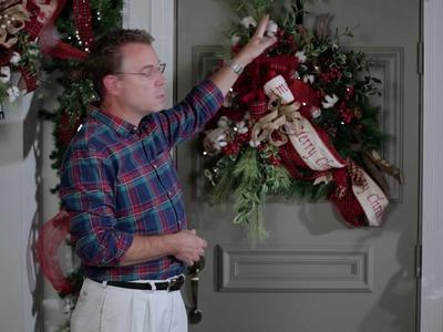 2016 Christmas Decorating Theme - Fresh Cut Entrance