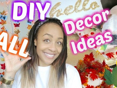 Cheap & Easy Fall DIY Decor!