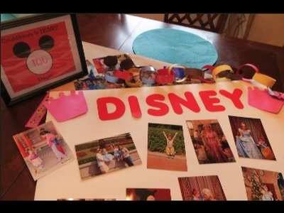 DISNEY VACATION CRAFT IDEAS!! | beingmommywithstyle