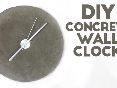 DIY Concrete Wall Clock | Modern Builds | EP. 46