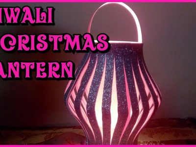 Diy craft: how to make diwali and christmas lantern || diwali decorations || kandil || easy method