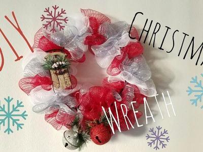 DIY Dollartree Christmas Wreath