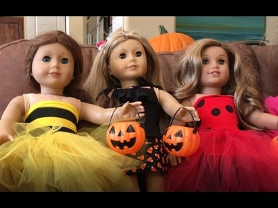 DIY Halloween Costume for American Girl Dolls - 2016