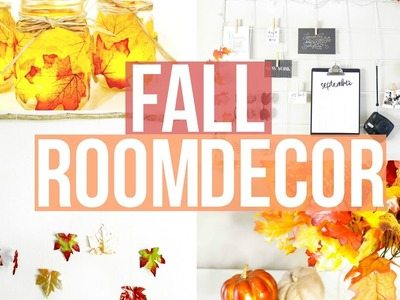 Easy DIY Fall Room Decor 2016 || Farina Aguinaldo