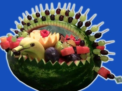 Food hacks | How to make watermelon fruits basket | DIY