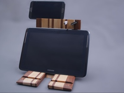 IPad stand Tablet holder. Woodworking ideas. DIY.