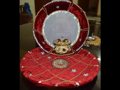 Karvachauth Special DIY: Pooja Thali Decoration