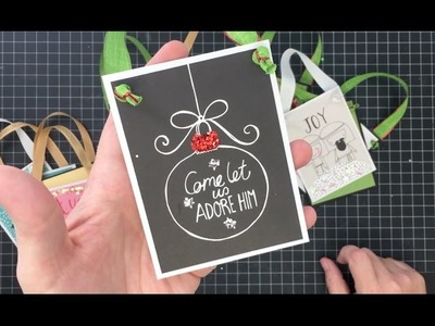 Make Christmas Ornaments from your Stash Cheap, Quick and Easy