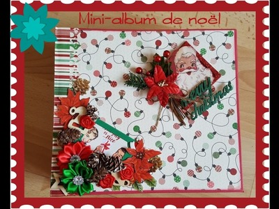 "Mini album noël, ""Retro Christmas"", authentique"