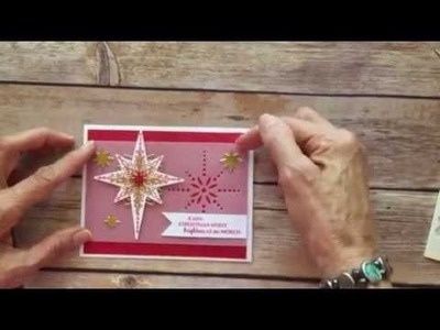 Star of Light Christmas Card - Stampin' Up!
