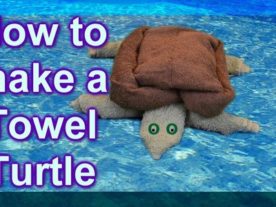 (( ASMR )) How To Make a Turtle out of Towels. (Ear to Ear)