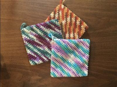 Basic Crochet Pot Holder by Stitch Niche