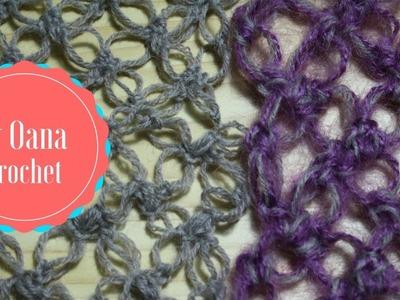 Crochet 3 versions of Solomon's knot