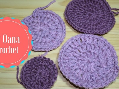 Crochet in rounds hdc and dc without joining