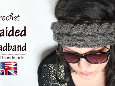 Crochet tutorial: braided headband