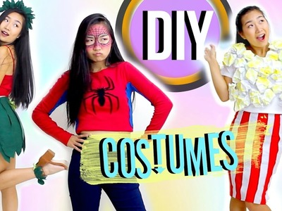 DIY Easy Halloween Costumes   JENerationDIY