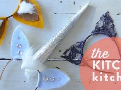 DIY Halloween Headbands. The Kitchy Kitchen